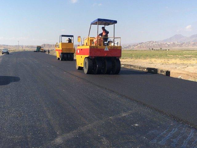 اجرای ۴۱ کیلومتر روکش آسفالت در راههای روستایی، فرعی و اصلی در شهرستان خوی