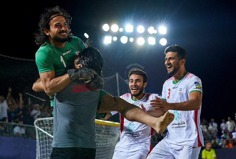 ایران ۶ - اسپانیا ۳/ هتریک ساحلی بازان ایران در قهرمانی جام بینقارهای