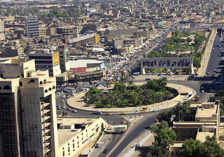 صدای انفجار در مرکز بغداد شنیده شد