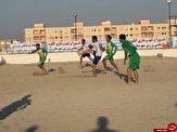 مسابقات فوتبال ساحلی در گناوه به کار خود پایان داد