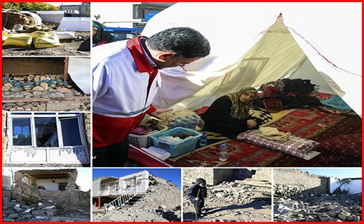 آخرین جزییات امداد رسانی به زلزله زدگان شمال غرب کشور/پرداخت ۱۶ میلیون تومان تسهیلات بلاعوض به زلزله زدگان +فیلم و تصاویر