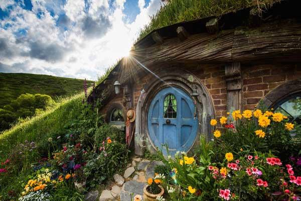 دهکدهای رویایی در نیوزیلند