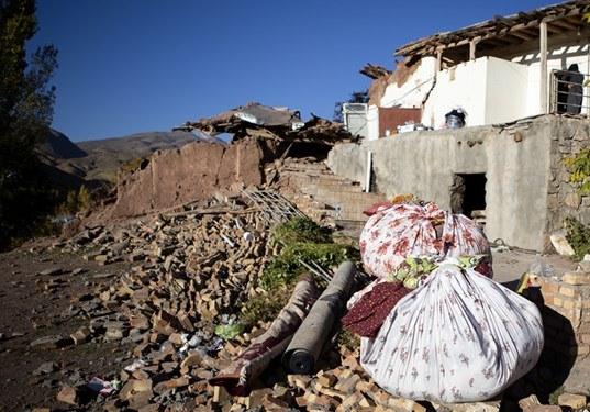 خسارت زلزله به ۱۳۰ روستا سراب و میانه