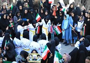 حضور باشکوه آینده سازان یزدی در مراسم استقبال از رئیس جمهور