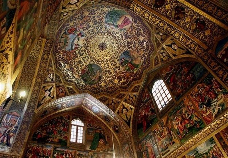 سقفهای ایرانی که تماشای آن شما را شگفت زده میکند