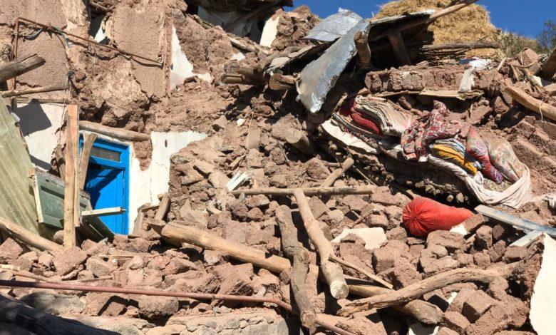 شدت گرفتن امدادرسانیها در مناطق زلزل زده شهرستان میانه + فیلم