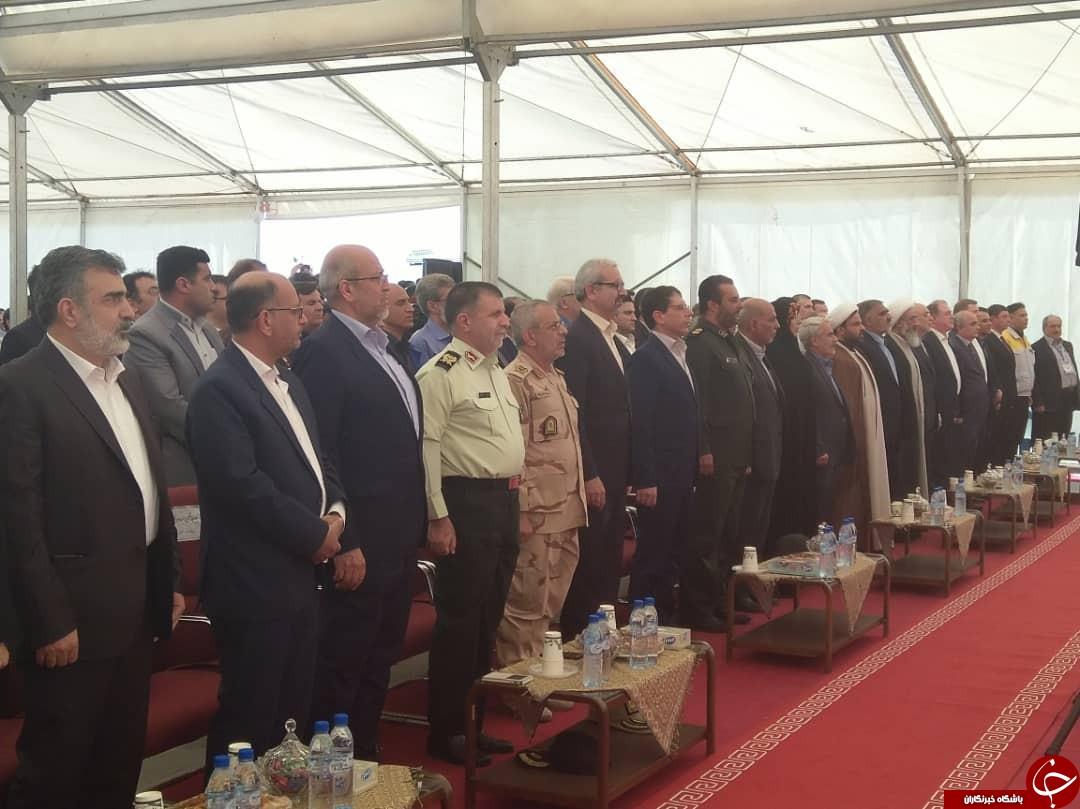بتن ریزی واحد دوم نیروگاه اتمی بوشهر به طور رسمی آغاز شد