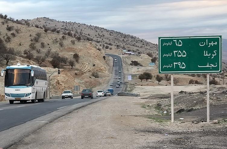 شش بانده شدن مسیر مهران تا پایانه مرزی