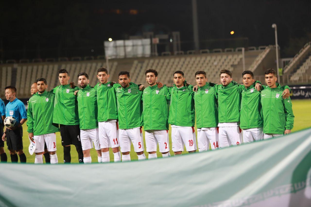 ترکیب تیم جوانان در آستانه دیدار با امارات