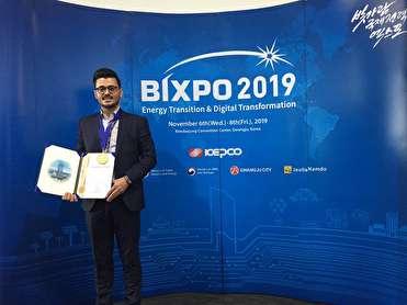 کسب مدال طلای جوان گیلانی در جشنواره بینالمللی اختراعات