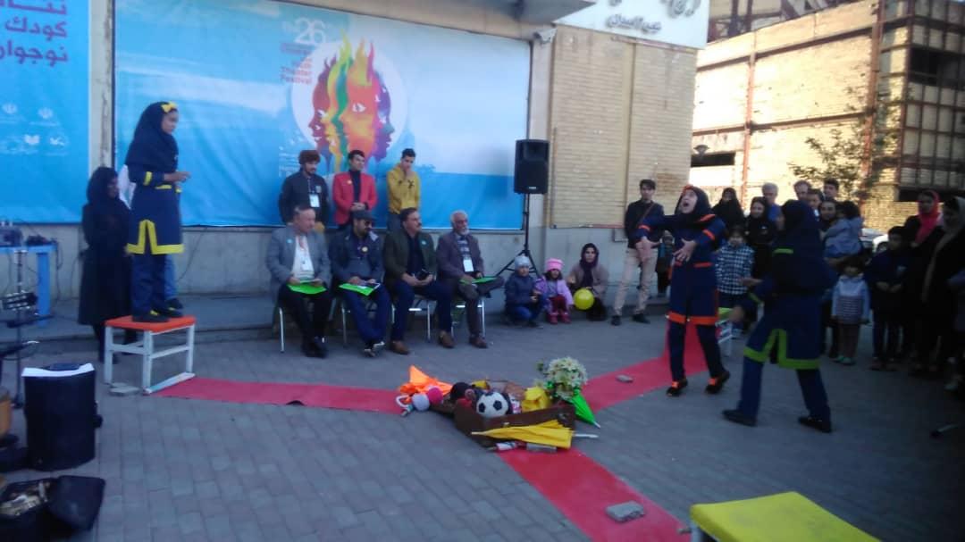 احترام به سالمندان پیام یک نمایش در جشنواره همدان