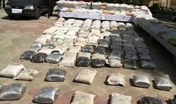 کشف بالغ بر ۲۰تن مواد مخدر و مقادیر سلاح و مهمات در ده روز اخیر