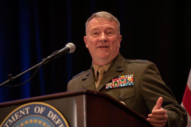 سفر فرمانده نظامیان تروریست آمریکایی در خاورمیانه به سرزمینهای اشغالی
