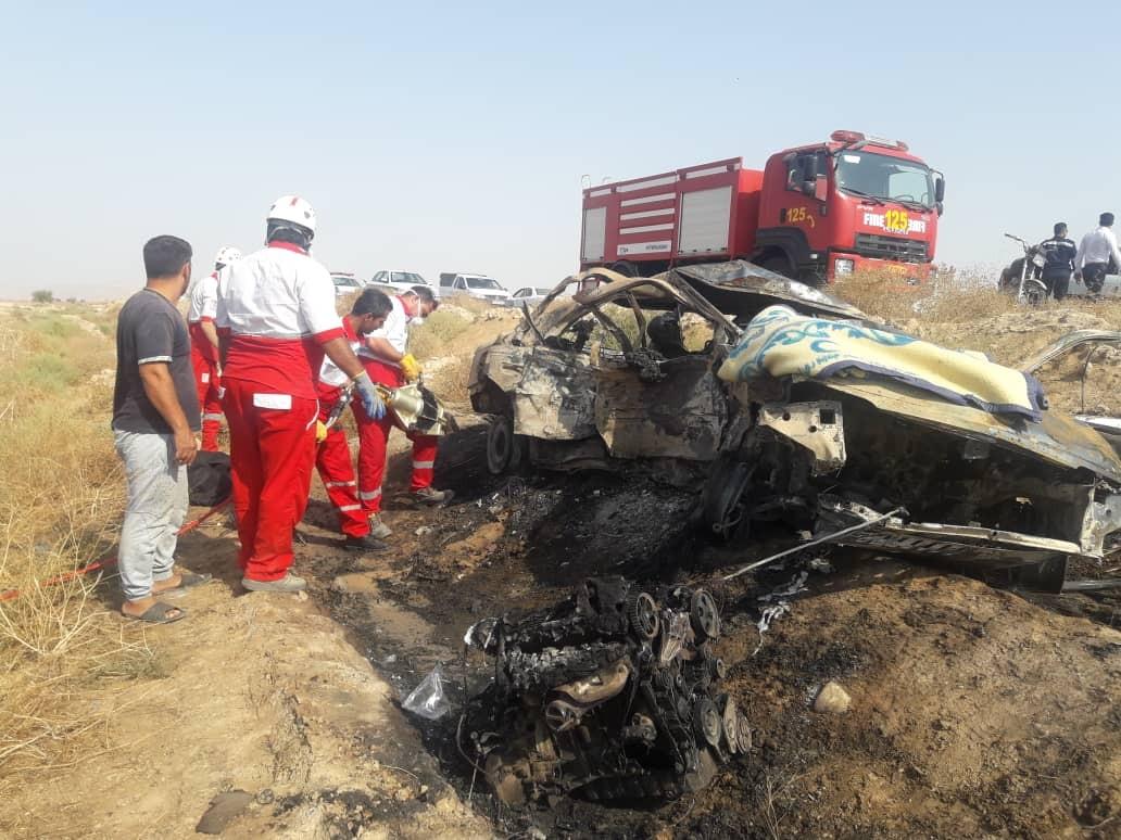 تصادف در جاده دیلم-هندیجان سه کشته داشت