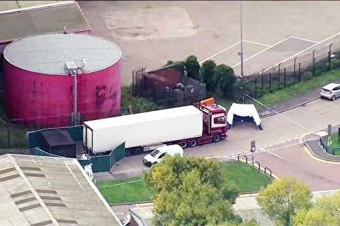 آخرین جزئیات از ماجرای کامیونی با ۳۹ جسد از اتباع چینی در انگلیس + فیلم