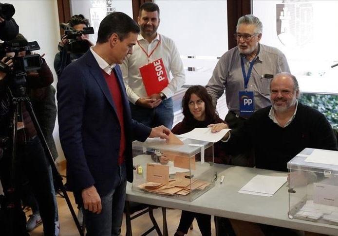 حزب سوسیالیست، پیروز انتخابات پارلمانی اسپانیا شد