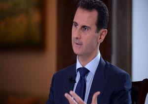 اسد: مدعیان استفاده از سلاح شیمیایی در سوریه، مدرک ارائه کنند