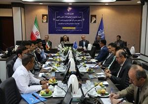 اولین جلسه کمیته مخابرات دریایی بنادر جنوبی کشور در بندر چابهار