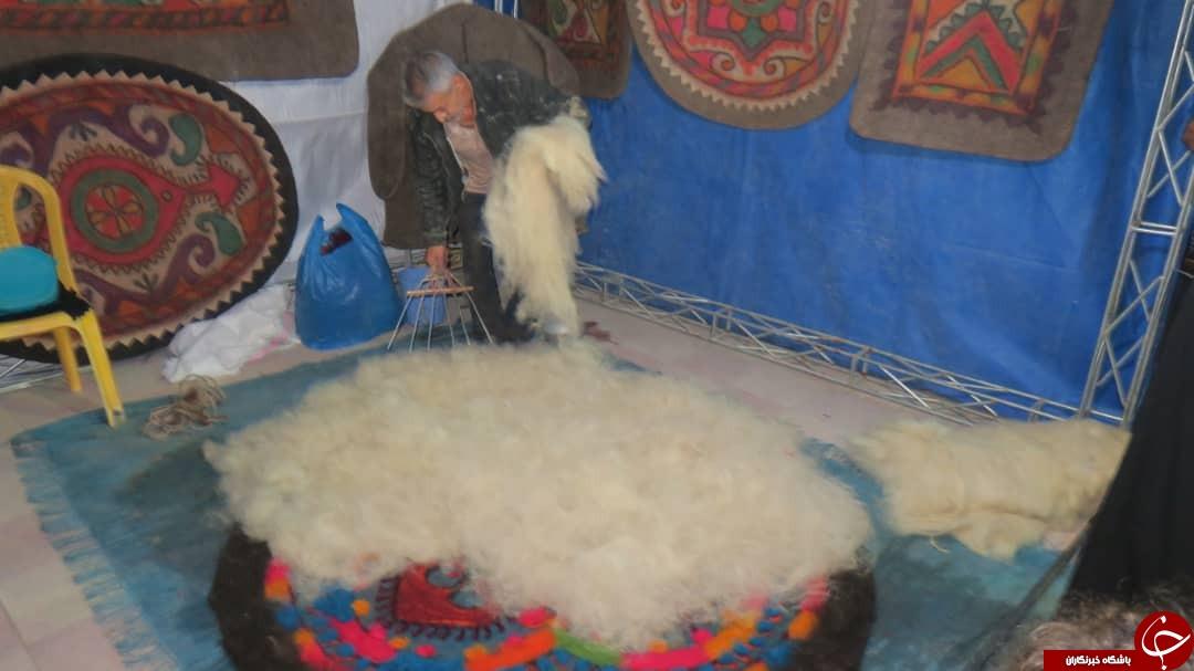 گشایش نخستین بازارچه صنایع دستی و هنرهای سنتی در کازرون + تصاویر