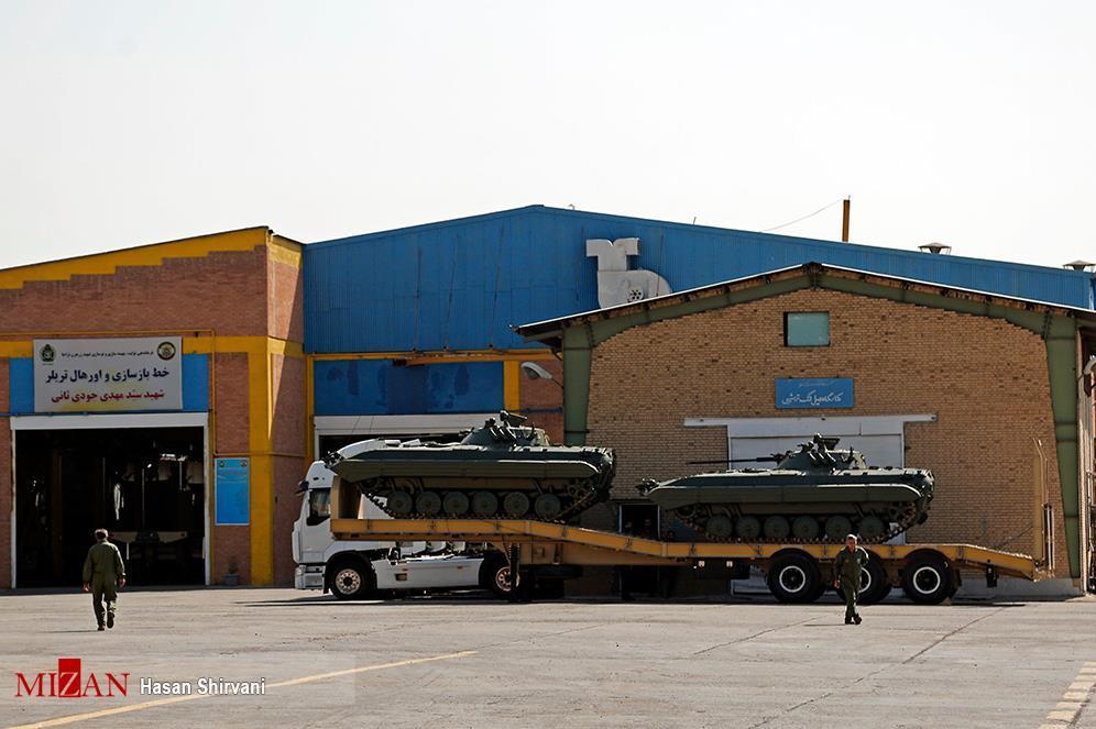بزرگترین مرکز نوسازی نزاجا|اینجا تجهیزات رزم زمینی ارتش جان دوباره میگیرند