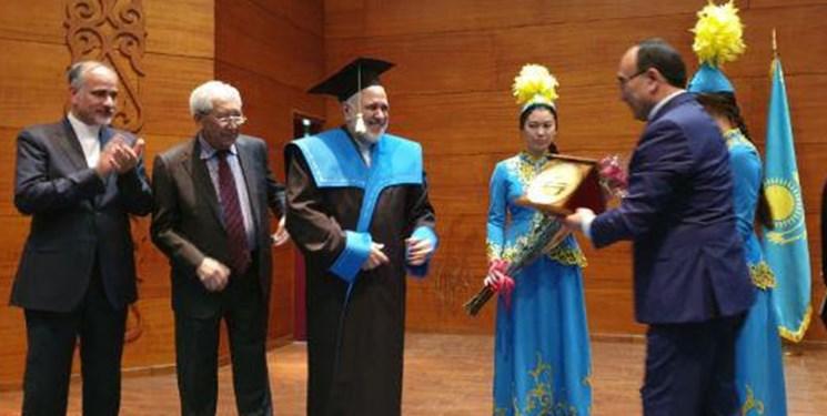 ظریف در دانشگاه اوراسیا شهر نورسلطان قزاقستان حضور یافت