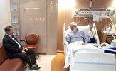باشگاه خبرنگاران -جهانگیری از  آیت الله حسینی بوشهری عیادت کرد