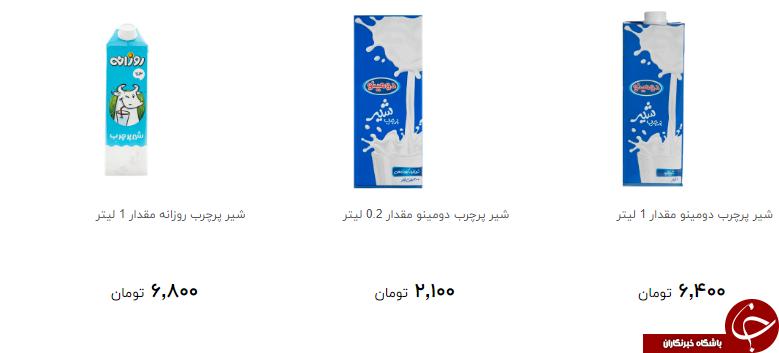 شیر پرچرب را چند بخریم؟ + قیمت