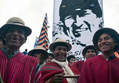 حرکت طرفداران مورالس به سمت پایتخت بولیوی