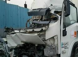 واژگونی کامیون مرگ راننده را رقم زد