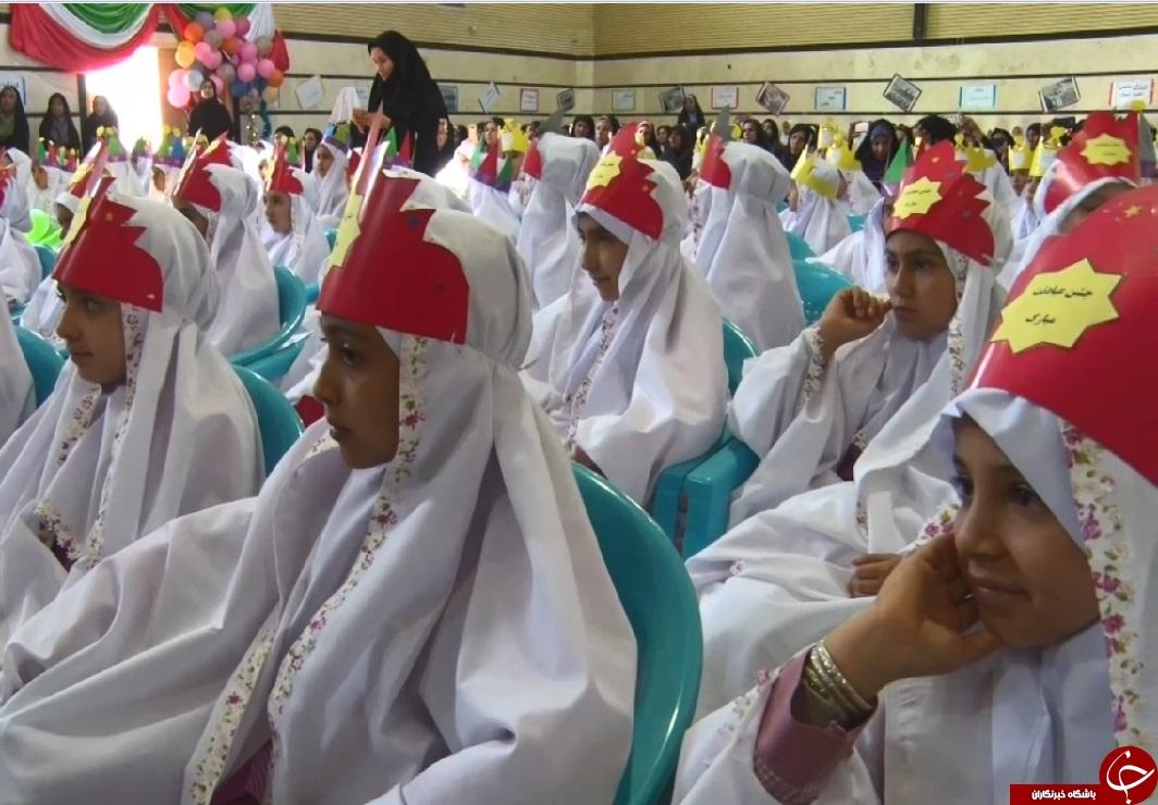 جشن آغاز تکلیف الهی ۳۰۰ دانش آموز میلاجردی