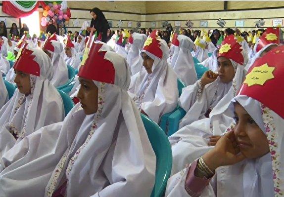 باشگاه خبرنگاران -جشن آغاز تکلیف الهی ۳۰۰ دانش آموز میلاجردی