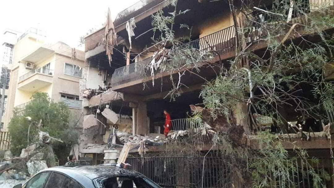 پدافند هوایی سوریه در جنوب دمشق فعال شد