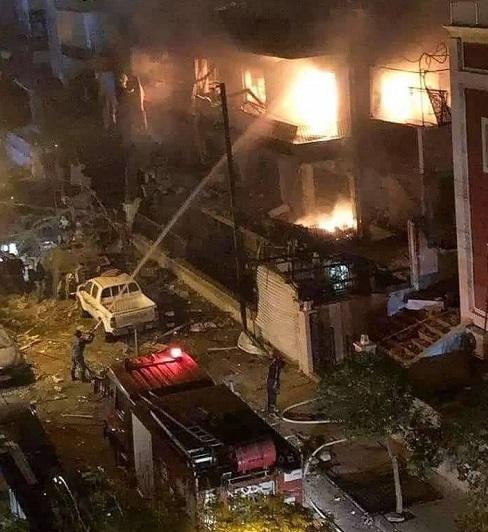 حمله هوایی رژیم صهیونیستی به حومه دمشق/ پدافند هوایی سوریه فعال شد