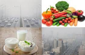 در هوای آلوده چه مواد غذایی مصرف کنیم؟//ثباتی