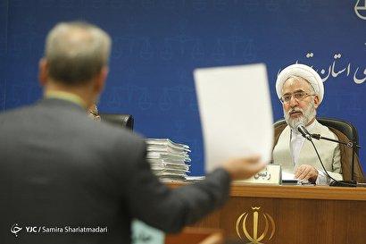 جلسه رسیدگی به اتهامات علی دیواندری