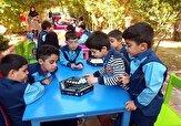 باشگاه خبرنگاران -اجرای مسابقه و بازیهای فکری در کتابخانه عمومی شهید رجایی اهواز