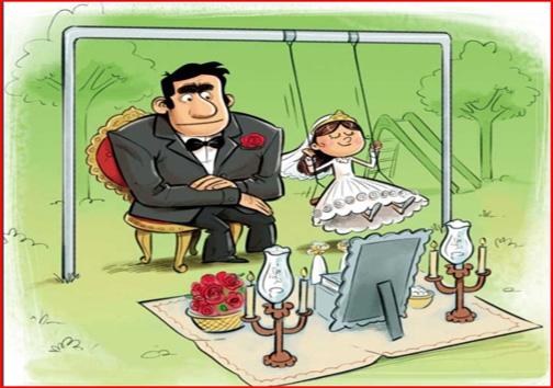 ازدواج کودکان؛ بیراهه ای که به تباهی ختم می شود