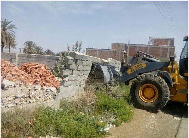 رفع تصرف بیش از ۱۲۰۰۰۰ هزار متر مربع از اراضی ملی در ایرانشهر