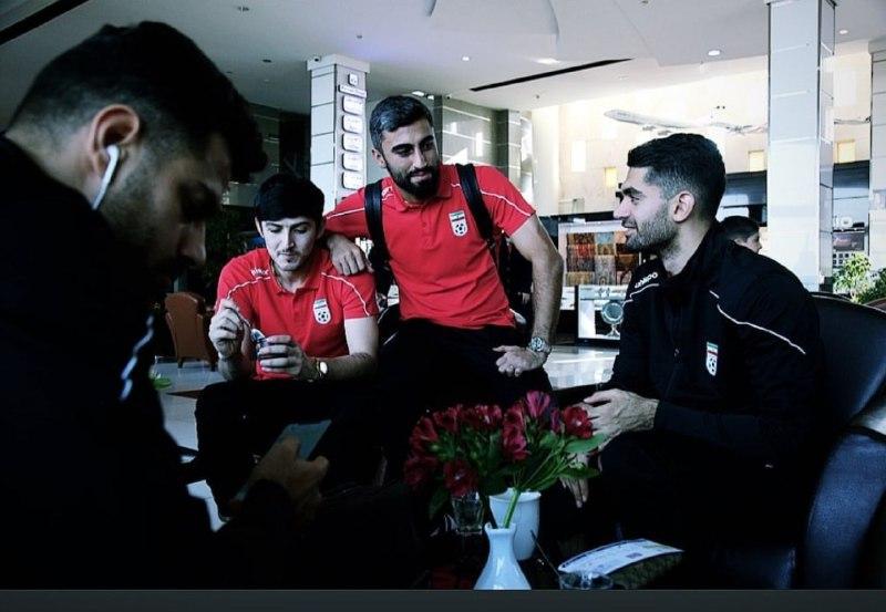 تیم ملی فوتبال ایران به اردن رفت