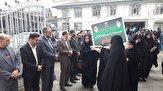 باشگاه خبرنگاران -بازدید دانش آموزان خمامی از مناطق عملیاتی غرب کشور
