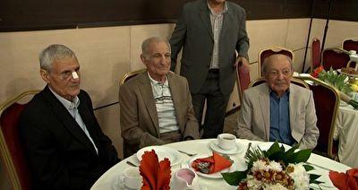 برگزاری مراسم تقدیر از سه پیشکسوت ورزش ایران + فیلم