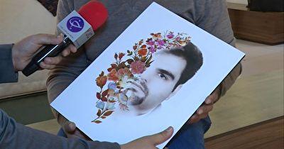برپایی نمایشگاه آثار هنری قربانیان اسیدپاشی در تهران + فیلم