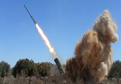 لحظه اصابت موشک مقاومت فلسطین به منطقهای از اسرائیل + فیلم