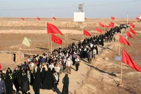 اعزام ۳۰۰ نفر از دانش آموزان به مناطع عملیاتی