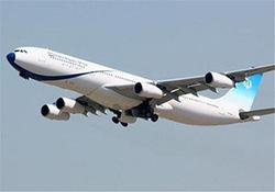 پرواز معاون رئیس جمهور با هواپیمایی با خلبان خانم + فیلم