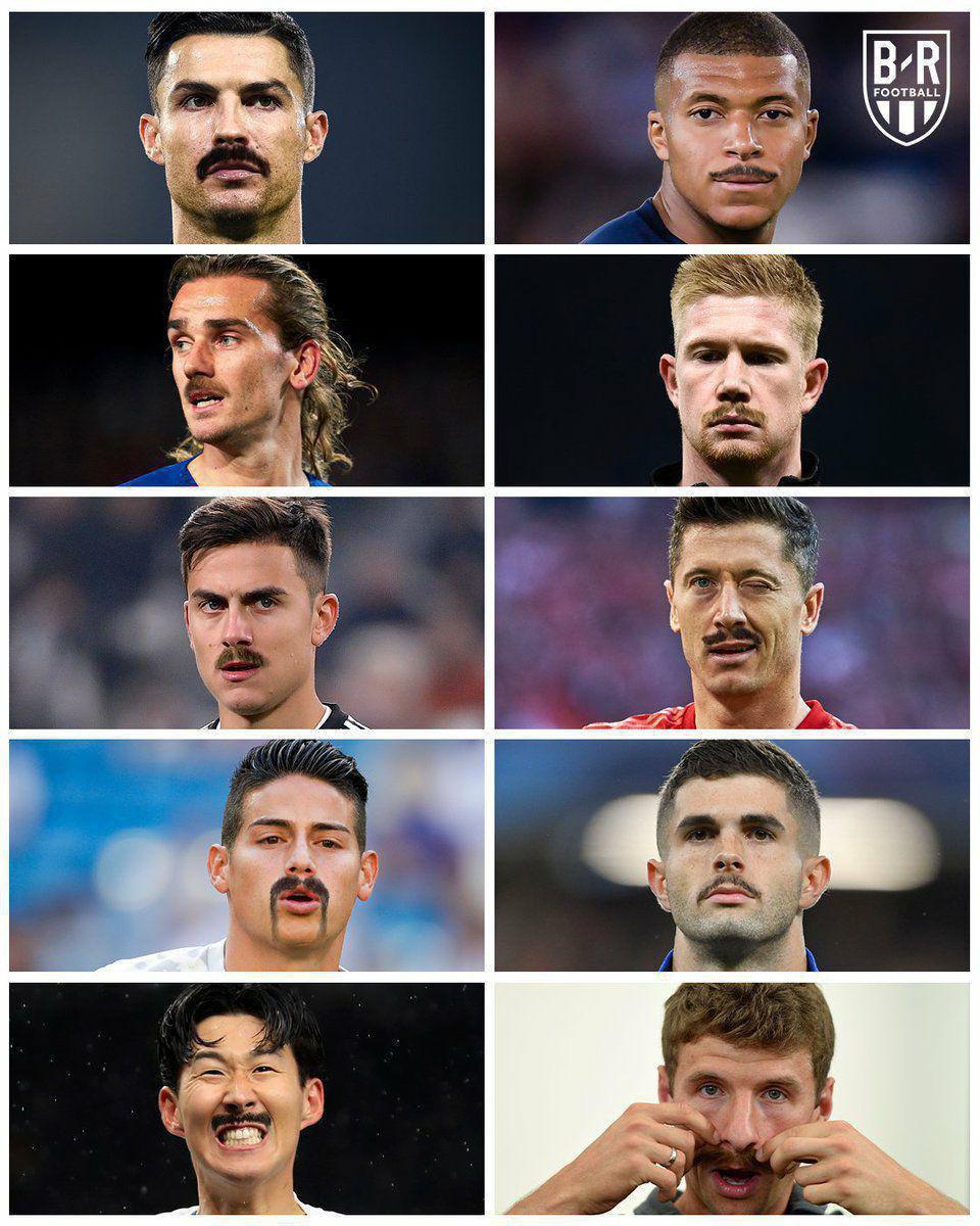 وقتی فوق ستارههای دنیای فوتبال سیبل میگذارند