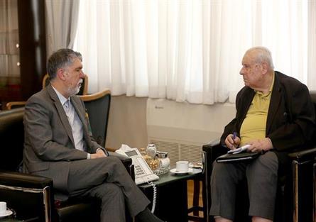 وزیر فرهنگ و ارشاد اسلامی با سفیر فلسطین در تهران دیدار کرد