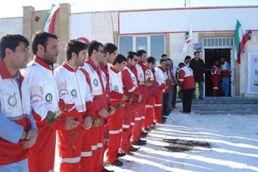 امدادگران جوان هلال احمر تجلیل شدند