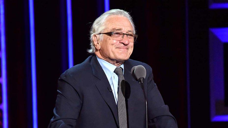 رابرت دنیرو از انجمن بازیگران جایزه میگیرد