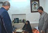 باشگاه خبرنگاران -دیدار مسئولان با خانوادههای ۴ شهید روستای صدر آباد زرندیه